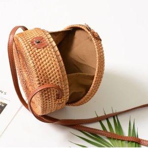 Handbags - Rattan Woven Wicker Purse!!